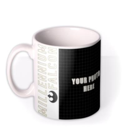 Mugs - Star Wars Millennium Falcon Photo Upload Mug - Image 1