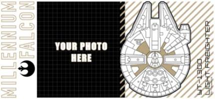 Mugs - Star Wars Millennium Falcon Photo Upload Mug - Image 4