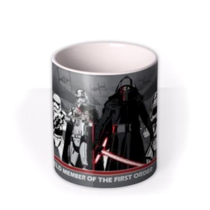 Mugs - Star Wars First Order Personalised Mug - Image 3