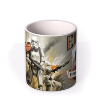 Mugs - Star Wars Rogue One Enforcer Photo Upload Mug - Image 3