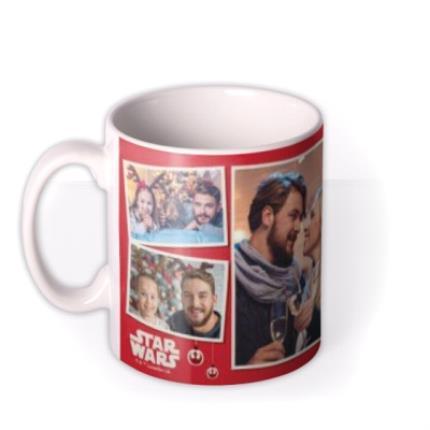 Mugs - Star Wars Wookiee Little Christmas Photo Upload Mug  - Image 1