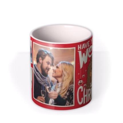 Mugs - Star Wars Wookiee Little Christmas Photo Upload Mug  - Image 3