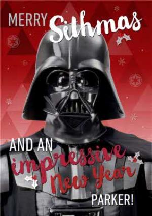 Greeting Cards - Merry Sithmas Christmas Card - Image 1
