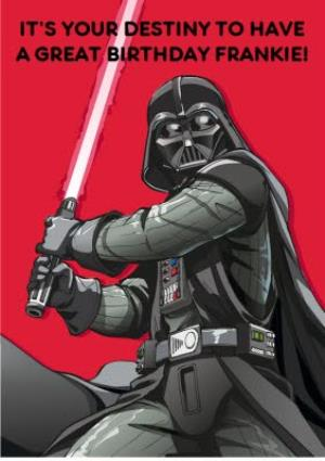 Greeting Cards - Birthday card - star wars - darth vadar - Image 1