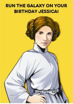 Greeting Cards - Birthday card - star wars - princess leia - Image 1