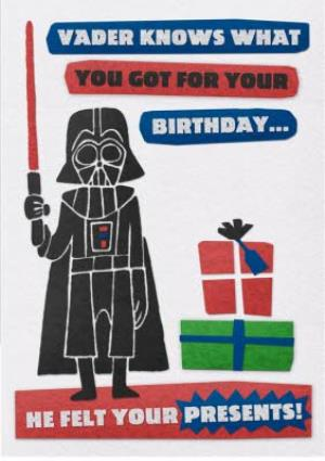 Greeting Cards - Birthday card - Star Wars - Darth Vader - Image 1