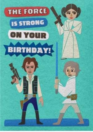 Greeting Cards - Birthday card - Star Wars - Disney - Image 1