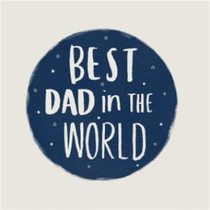 Greeting Cards - Best Dad In The World Card - Image 1