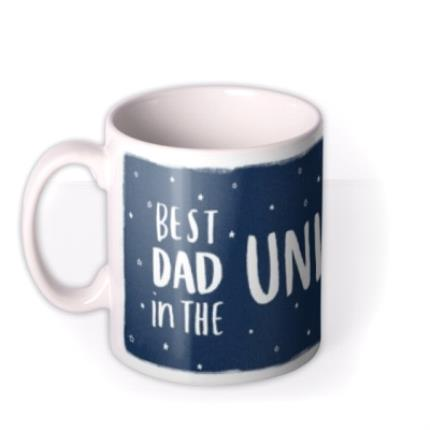 Mugs - Best Dad In The Universe Happy Father's Day Mug - Image 1