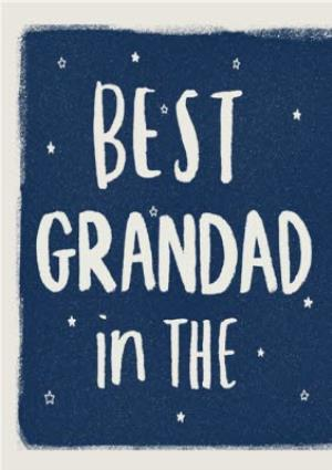Greeting Cards - Best Grandad In The Universe Card - Image 1