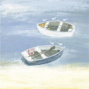 Greeting Cards - Boats On The Shore Card - Image 1