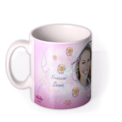 Mugs - Disney Princess Rapunzel Photo Upload Mug - Image 1
