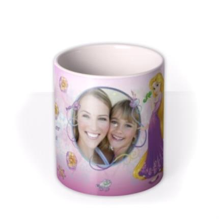 Mugs - Disney Princess Rapunzel Photo Upload Mug - Image 3
