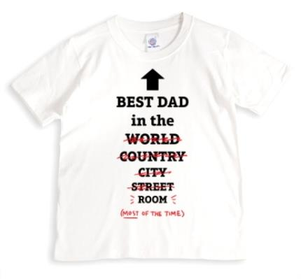 T-Shirts - Best Dad In The World, Well Room T-Shirt - Image 1