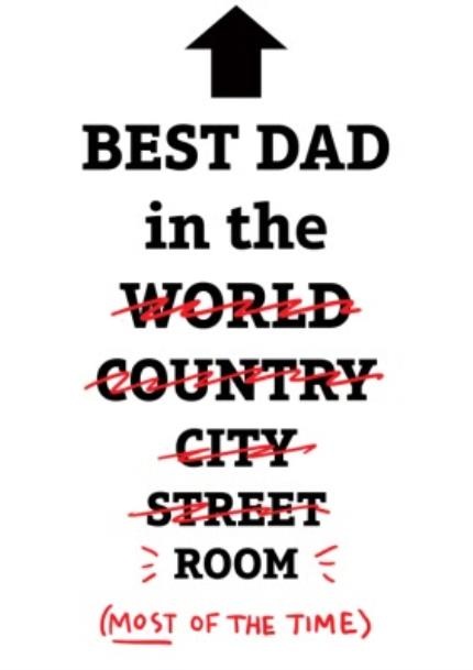 T-Shirts - Best Dad In The World, Well Room T-Shirt - Image 4
