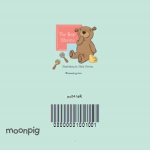 Greeting Cards - Bear Cuddles Personalised Congrats New Baby Card - Image 4