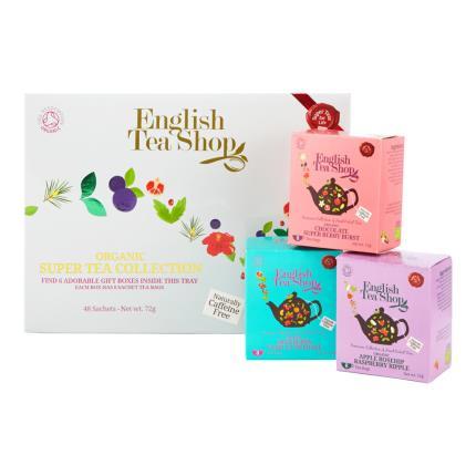 Food Gifts - English Tea Shop Organic Super Tea Collection - Image 1