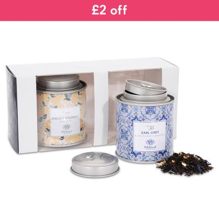 Food Gifts - Whittard English Tea Caddy Selection WAS £15 NOW £13 - Image 1