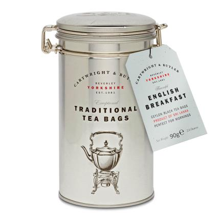 Food Gifts - Cartwright & Butler English Breakfast Tea Gift - Image 1