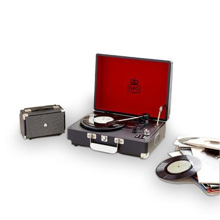 Gadgets & Novelties - Attache Record Player - Black - Image 3