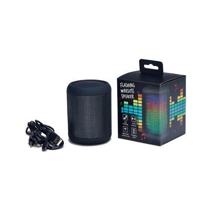Gadgets & Novelties - KitSound Flashing Wireless Speaker - Image 1
