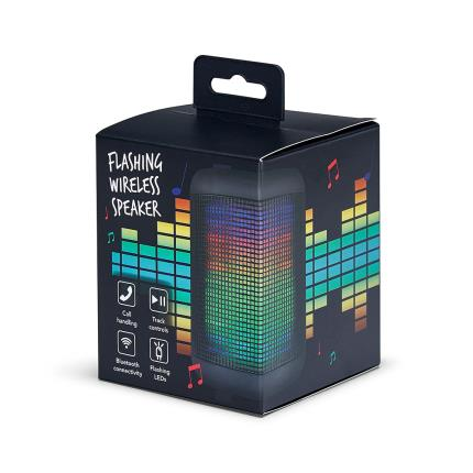 Gadgets & Novelties - KitSound Flashing Wireless Speaker - Image 2