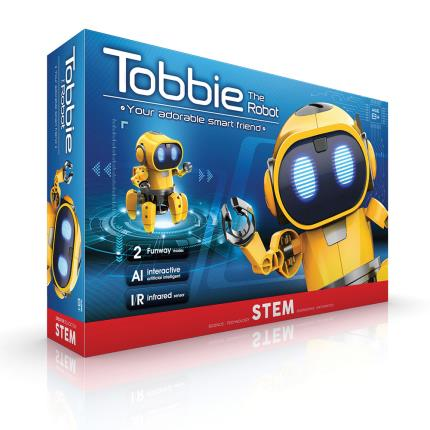 Gadgets & Novelties - The Source Tobbie Interactive Robot STEM Toy - Image 2