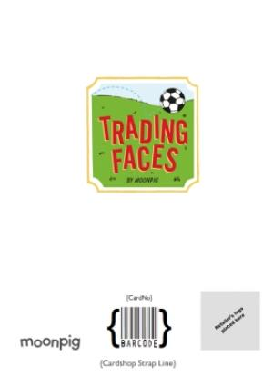 Greeting Cards - Birthday Card - Face In The Hole - Female - Photo Upload - Sport - Football - Image 4