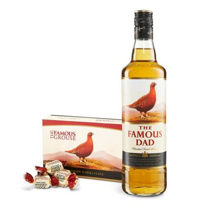 Alcohol Gifts - The Famous Dad Whisky & Fudge  - Image 1