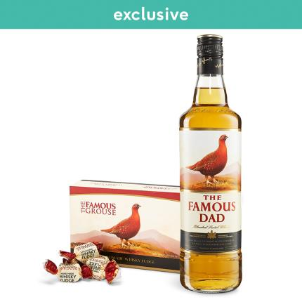 Alcohol Gifts - The Famous Dad Whisky & Fudge  - Image 4
