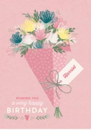 Greeting Cards - Birthday card - floral card - traditional birthday card - Image 1