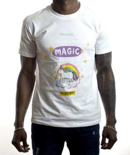 T-Shirts - The Happy News Filled With Magic T-Shirt - Image 2