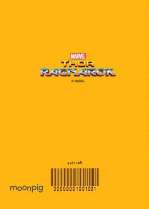 Greeting Cards - Marvel Thor Ragnarok Photo Upload Card - Image 4