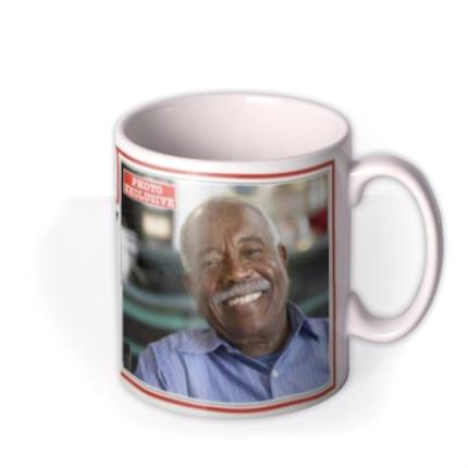 Mugs - The News Birthday Personalised Photo Upload Mug - Image 2