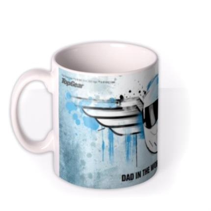 Mugs - Father's Day Top Gear The Stig Personalised Mug - Image 1