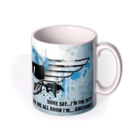 Mugs - Father's Day Top Gear The Stig Personalised Mug - Image 2
