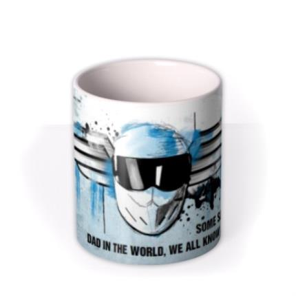 Mugs - Father's Day Top Gear The Stig Personalised Mug - Image 3