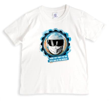 T-Shirts - Father's Day Top Gear The Stig Personalised T-shirt - Image 1
