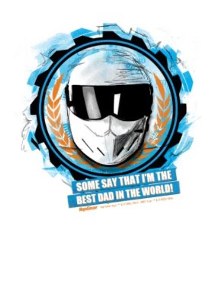 T-Shirts - Father's Day Top Gear The Stig Personalised T-shirt - Image 4