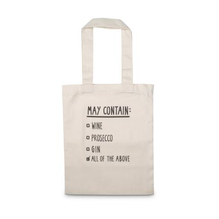 Gifts For Home - May Contain List Tote Bag - Image 1