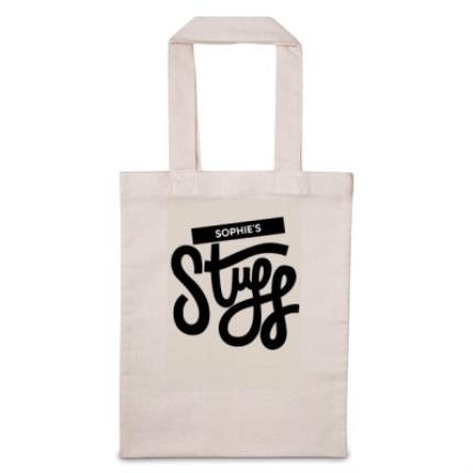 Gifts For Home - 'Personalise Me' Stuff Tote Bag - Image 1