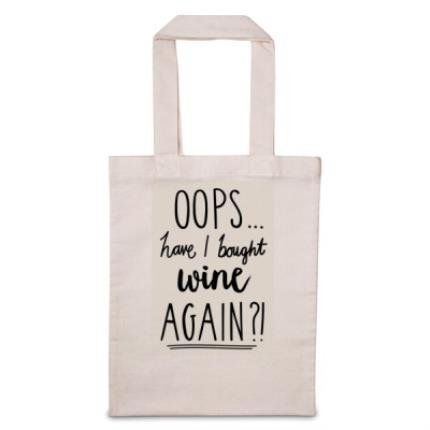 Gifts For Home - Oops Have I Bought 'Personalise Me' Again Tote Bag - Image 1