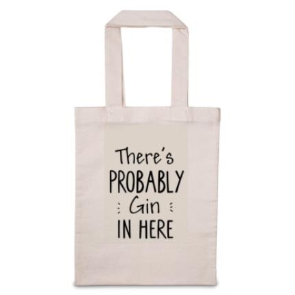 Gifts For Home - There's Probably 'Personalise Me' In Here Tote Bag - Image 1