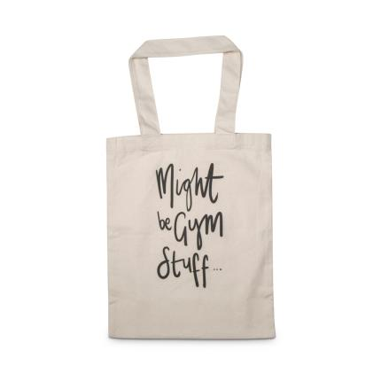 Gifts For Home - Might Be Gym Stuff Tote Bag - Image 1