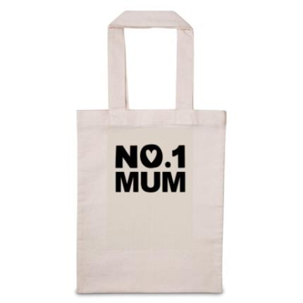 Gifts For Home - No.1 Mum Tote Bag - Image 1