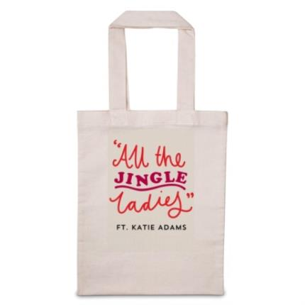Gifts For Home - All The Jingle Ladies 'Personalise Me' Tote Bag - Image 1