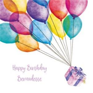 Greeting Cards - Birthday Card - Birthday Present - Balloons - Image 1