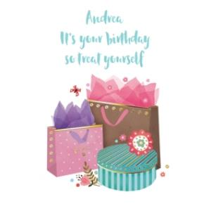 Greeting Cards - Birthday Card - Birthday Presents - Treat Yourself - Image 1
