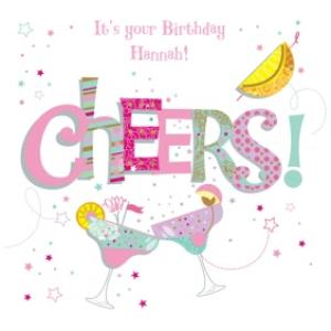 Greeting Cards - Margarita Party Happy Birthday Card - Image 1