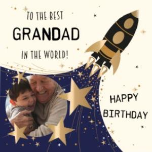 Greeting Cards - Birthday Card for Grandad - To the best Grandad in the world! - Image 1